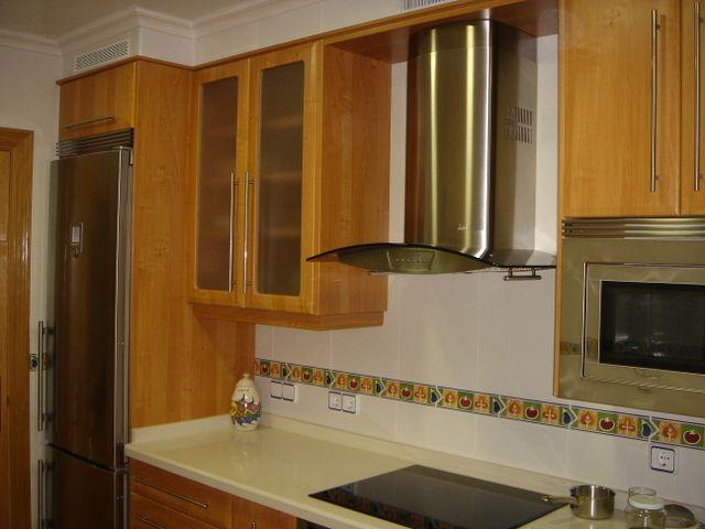 cocina realizada por cocinas jablanco de gijon